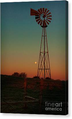 Southwest Morning Canvas Print by Robert Frederick