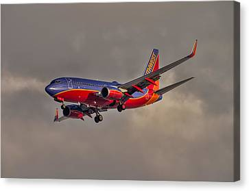 Southwest Sunset Canvas Print by Nathan Gingles