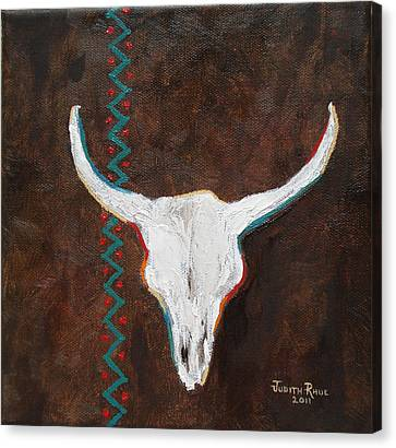 Southwestern Influence Canvas Print by Judith Rhue