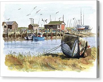 Southwold Canvas Print