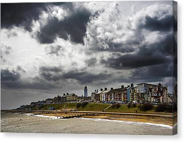 Southwold Canvas Print by Svetlana Sewell