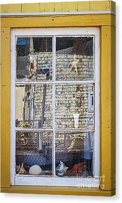 Souvenir Store Window Canvas Print