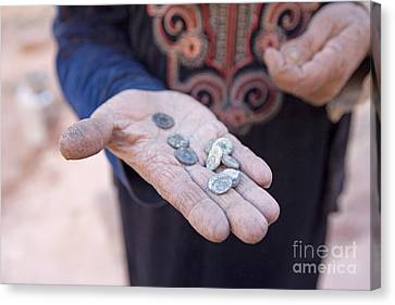 Souvenirs, Petra, Jordan Canvas Print by Adam Sylvester