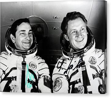 Soyuz 31 Crew Canvas Print