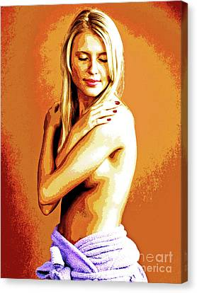 Spa Warmth-2 Canvas Print