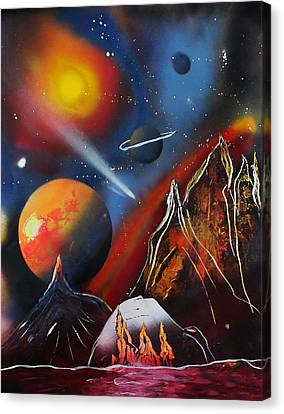 Space 016 Canvas Print by Frank Carter