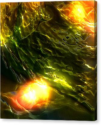 Space Fall Canvas Print by Richard Thomas