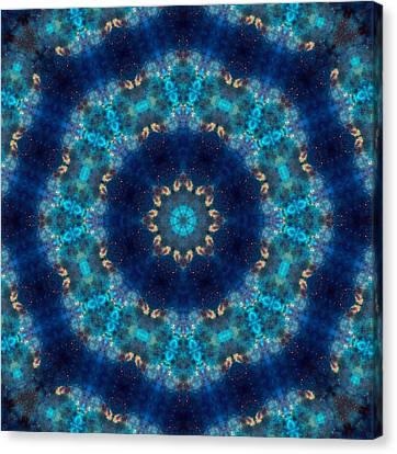 Space Kaleidoscope Canvas Print