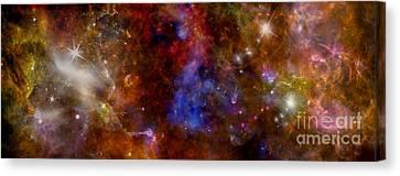 Space Odyssey -1  Canvas Print by Renata Ratajczyk