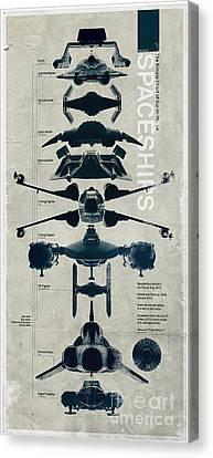 Viper Canvas Print - Space Ships by Baltzgar
