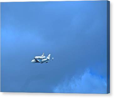 Space Shuttle Enterprise Canvas Print by Kenneth Summers