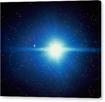 Space, Starburst Canvas Print by Panoramic Images