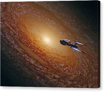 Space The Final Frontier Canvas Print by Movie Poster Prints