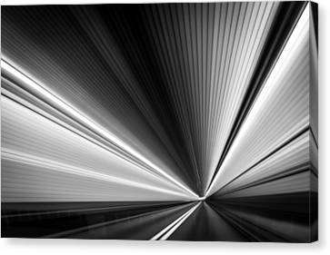 Space-time Continuum Canvas Print by Mihai Andritoiu