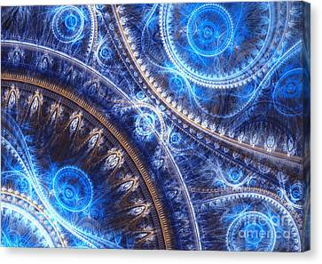 Space-time Mesh Canvas Print