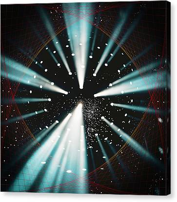 Space Time Warp Canvas Print