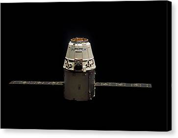 Spacex Dragon Capsule Canvas Print