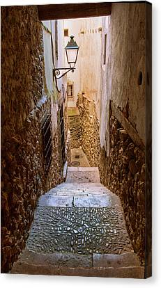 Spain, Cuenca Alley Canvas Print by John Ford
