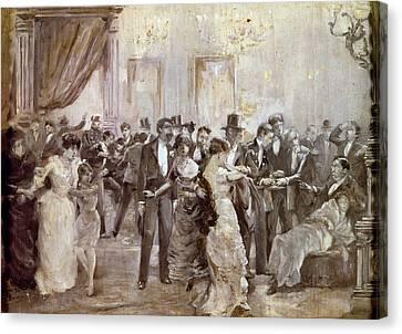 Spain Liceu Theater, 1893 Canvas Print by Granger