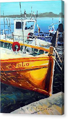 Spain Series 01 Cadaques Portlligat Canvas Print by Yuriy Shevchuk