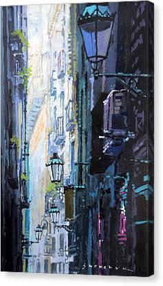 Spain Series 06 Barcelona Canvas Print by Yuriy Shevchuk