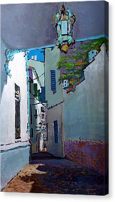 Spain Series 09 Cadaques Canvas Print by Yuriy Shevchuk