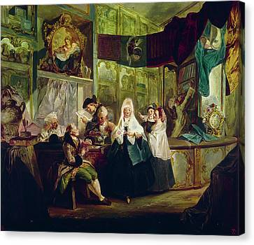 Spain Shop, C1772 Canvas Print by Granger