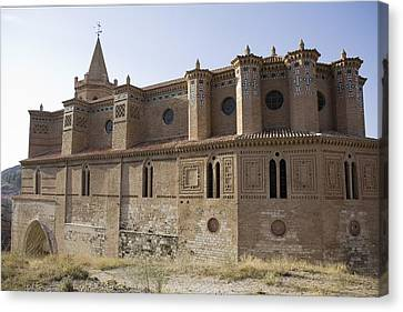 Spain. Teruel. Montalb�n. Church Canvas Print by Everett
