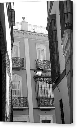 Spanish Architecture. Canvas Print by Alicia Morales
