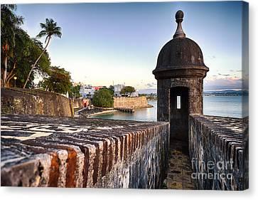 San Juan Spanish Caribbean Canvas Print by George Oze
