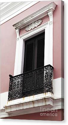 Spanish Colonialism Architecture Canvas Print by John Rizzuto