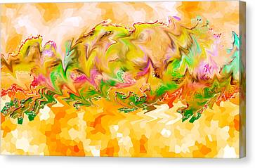 Spanish Dancer 01 Canvas Print