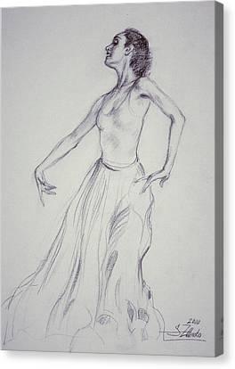 Spanish Dancing Canvas Print
