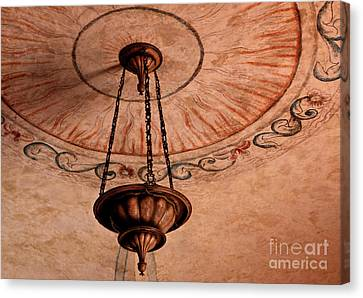 Canvas Print featuring the photograph Spanish Lamp by Lawrence Burry