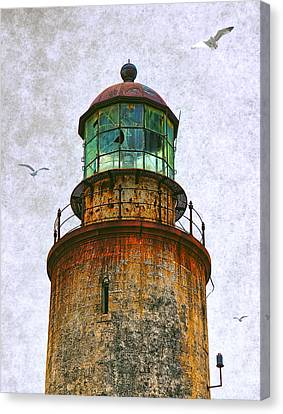 Spanish Lighthouse Canvas Print by Daniel Hagerman