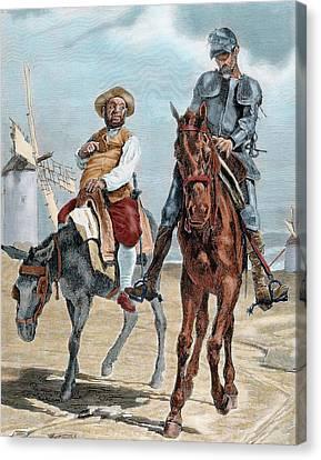 Don Quixote Canvas Print - Spanish Literature by Prisma Archivo