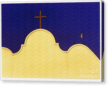 Canvas Print featuring the photograph Spanish Mission by Susan Parish