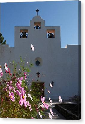 Canvas Print featuring the photograph Spanish Mission by Susan Rovira