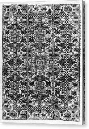 Spanish Rug, 1766 Canvas Print by Granger