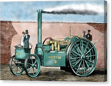 Spanish Traction Engine 'castilla' Canvas Print by Prisma Archivo