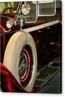 Spare Tire Canvas Print by Susan Savad