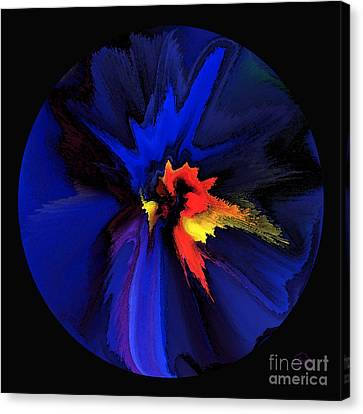 Spark Of Transformation Canvas Print by Patricia Kay