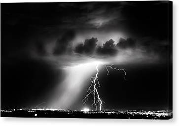 Spark Canvas Print by Roch Hart