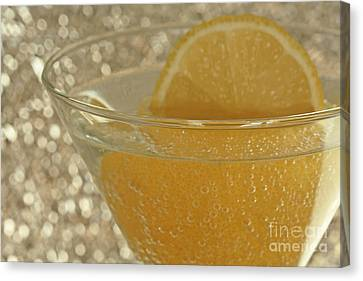 Sparkling Citrus Moments Canvas Print by Inspired Nature Photography Fine Art Photography