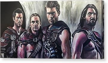 Spartacus Canvas Print by Tom Carlton