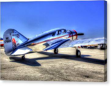 Sparten Executive At Hollister Airshow Canvas Print