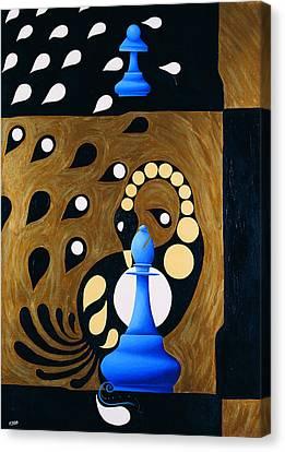 Spassky-fischer Canvas Print
