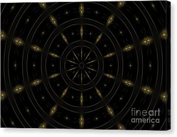 Spatial Abstract Background Pattern Canvas Print by Jose Elias - Sofia Pereira