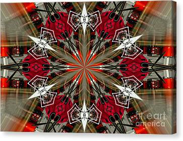 Spatial Awareness Canvas Print by Diane E Berry