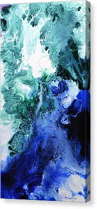 Cosmic Canvas Print - Speak To Me - Canvas Three by Sally Trace